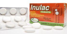 Inulac sugtabletter med bifidus och acidofilus