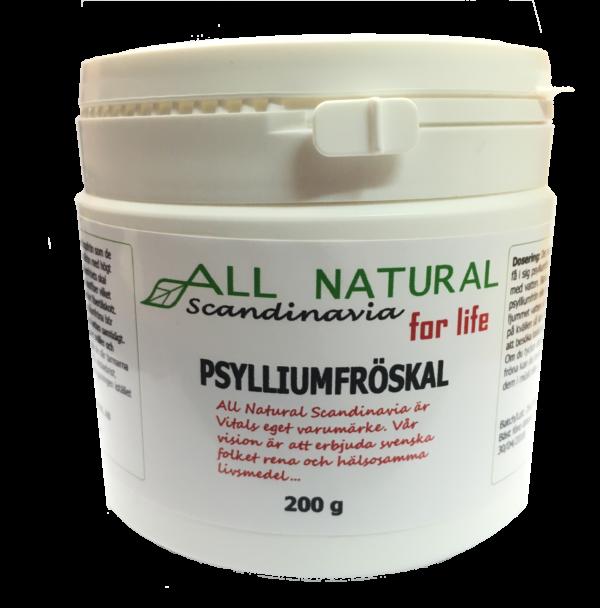 psylliumfrskal allnatural