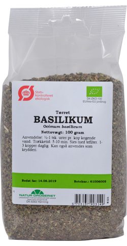 basilikum torr