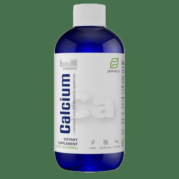 8oz calcium liquid.supplement.zemvelo.tn