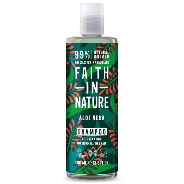 faith in nature aloe vera shampoo 400 ml