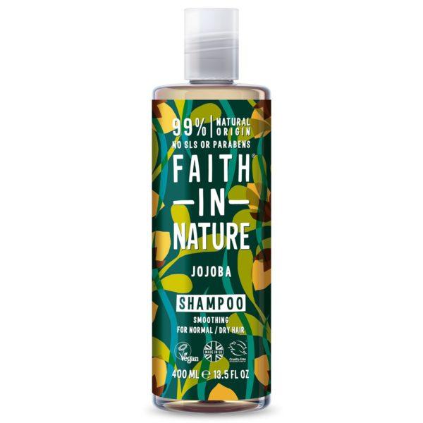 faith in nature jojoba shampoo 400 ml
