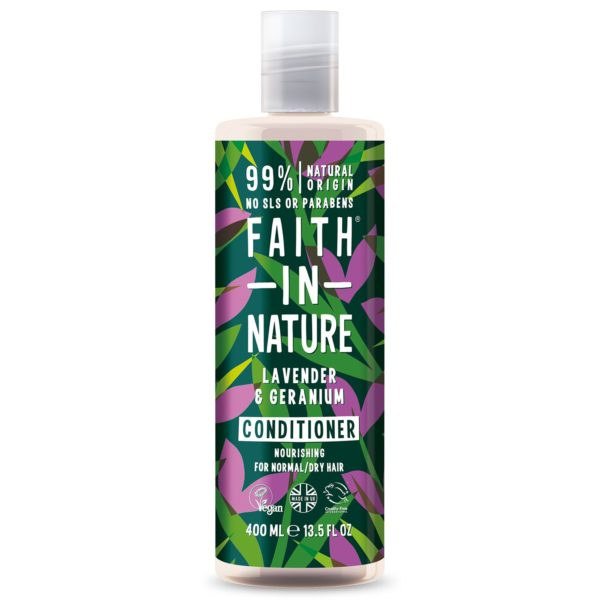 faith in nature lavender geranium conditioner 400 ml