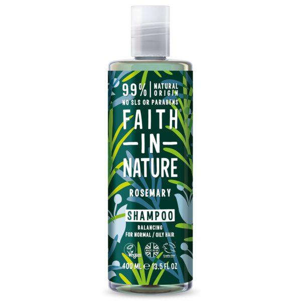 faith in nature rosemary shampoo 400 ml