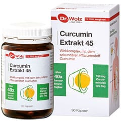 curcumin extrakt 45 90k dr woltz