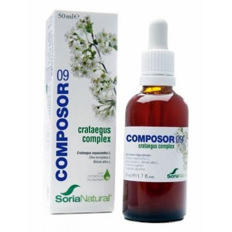 composor 09 crataegus complex soria natural 50 ml
