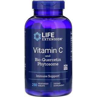 life extension vitamin c and bio quercetin phytosome 250pcs