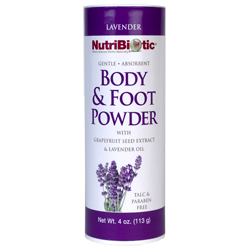 bodyfoot powder nutribiotic