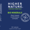 highernature bio minerals lable