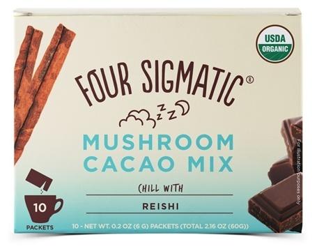 four sigmatic chokladdryck instant reishi 10 pasar