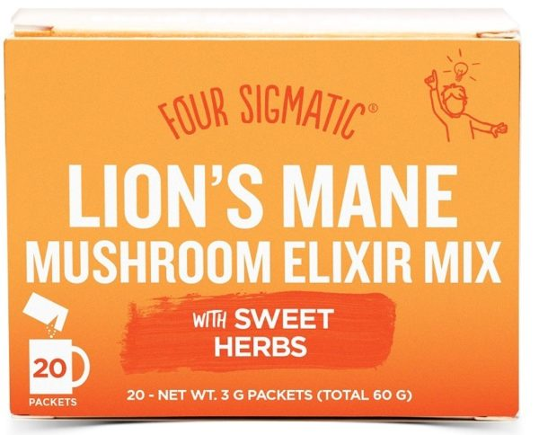 four sigmatic elixir instant lions mane 20 pasar