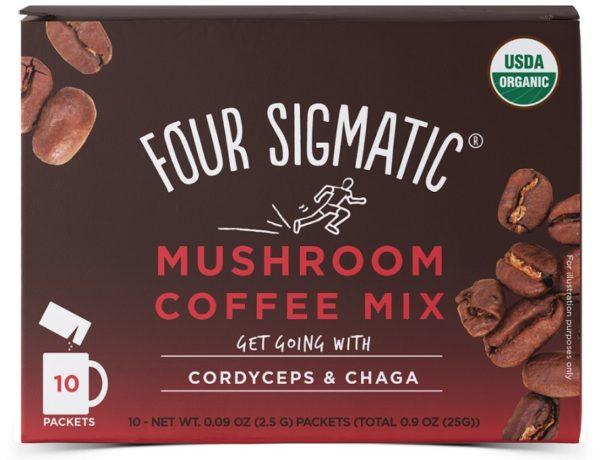 four sigmatic kaffe instant cordyceps chaga 10 pasar