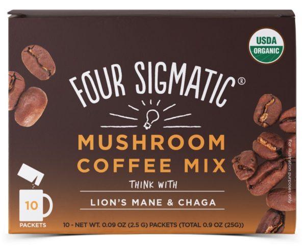 four sigmatic kaffe instant lions mane chaga 25 g x 10 0