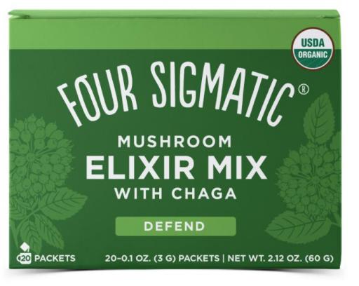 four sigmatic mushroom coffee mix w chaga defend