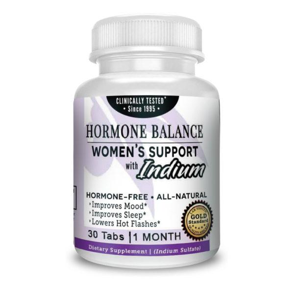 hormone balance menopausal womens support supplement vitamin indium 30