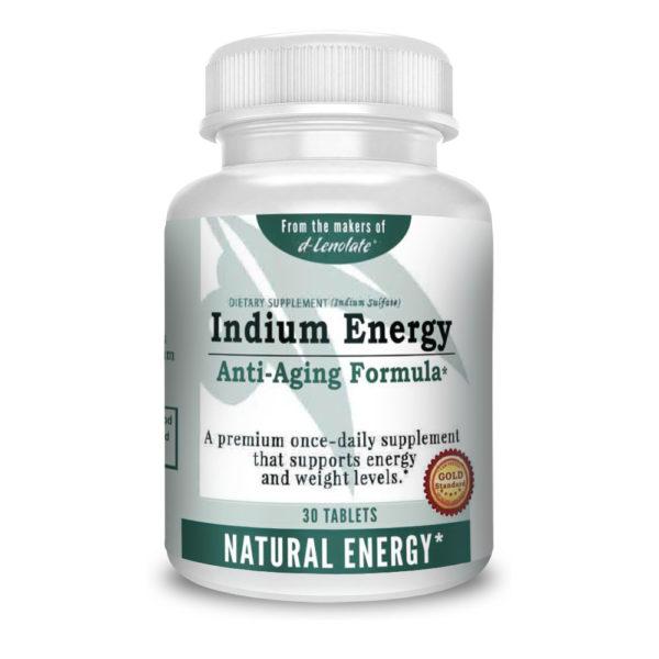 indium energy 30 supplement mineral anti aging vitamin