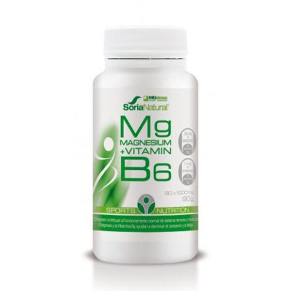 soria natural magnesio vitamina b6 90tabs